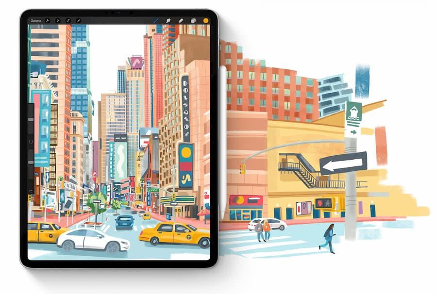 tablet ipad para dibujar